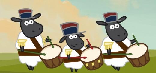 Tris jeunes tambours Joli Tambour comptine enfant
