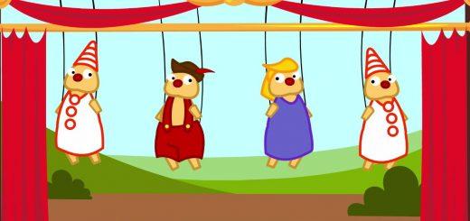 Ainsi Font Font Font Les Petites Marionnettes comptine enfant