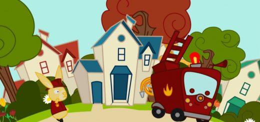 Au feu les pompiers comptine enfant