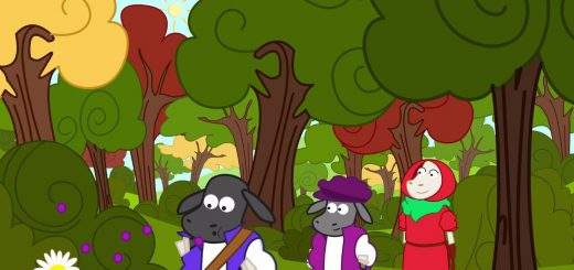 Promenons nous dans les bois comptine enfant